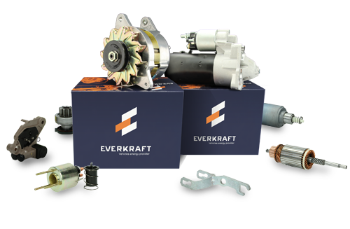 ALTERNATORS & STARTERS EVERKRAFT